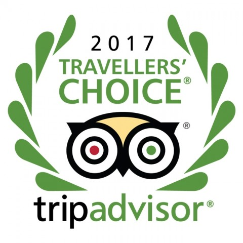 TripAdvisor - Travellres choice - 2017